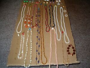 Costume jewllery and rings...Make an offer...