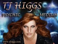 T J Higgs Evening of Clairvoyance