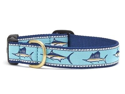 Dog Puppy Design Collar - Up Country - Made In USA - Marlin Fish - Choose Size](Puppy Up)