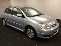 2005 Toyota Corolla 5Door 1.4 Petrol Cheap Reliable Car 1 Previous Owner 1 Year Warranty 1 Year MOT