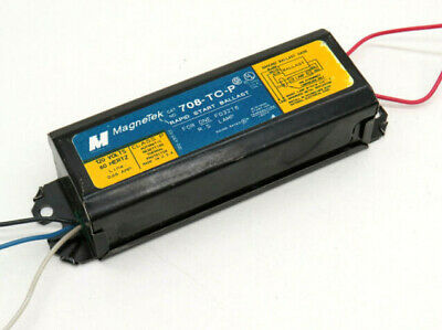 2 Valmont 8G3699W Rapid Start Fluorescent Ballast for F48PG17 F48T12//SHO /& VHO