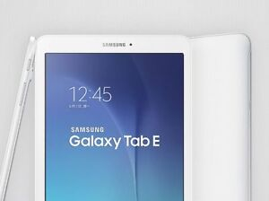 Brand new Samsung Galaxy Tab E 9.6 16GB Android Tablet - White