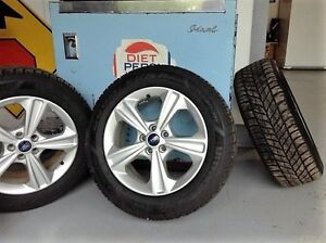 Winter tires on factory Ford alloy rims