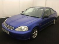 1999 Honda Civic 1.6 LS Coupe EK Sunroof Model Long MOT EJ Ideal For Conversion VTI MB6 B16 B18 B20