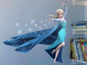 Brand new DIY removable Frozen Elsa Anna Olaf wall decals