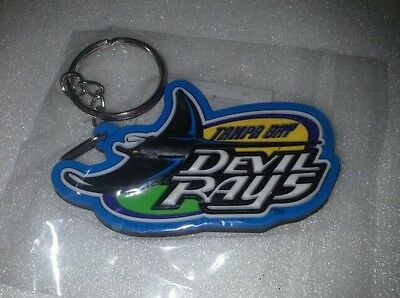 Tampa Bay Devil Rays 3-D Key Chain 1998 New in package MLB Play by Play
