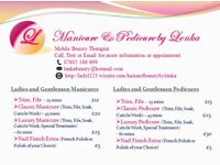 Manicure & Pedicure & Hair Extensions