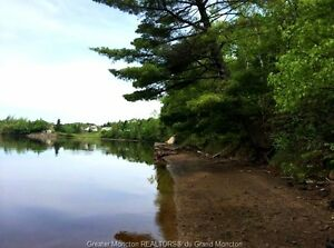 31 Hawryluk. 1.7 acre lot is located right on the Shediac River!