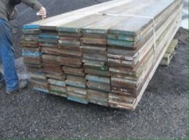 Heavy duty scaffolding boards for sale ideal for equestrian ,farm,builders projects