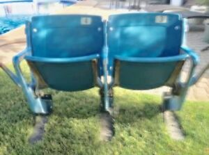 Two seats from Tiger Stadium