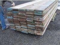 Heavy duty scaffolding boards for farm fencing, equestrian railed fencing , builders , DIY & garden