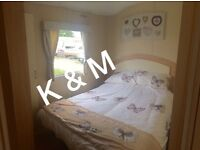 8 berth caravan to hire North Wales Towyn