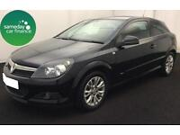 £109.43 PER MONTH BLACK 2010 VAUXHALL ASTRA 1.6 SRI 3 DOOR PETROL MANUAL