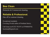 Bee Clean Cleaning Company.