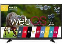 "LG 49"" 4K ultra HD smart LED Tv warranty Free delivery"