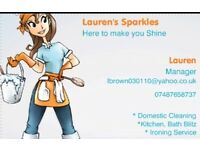 Domestic Cleaning from £11ph