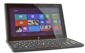 Lenovo ThinkPad Tablet 2 Win10 PC with Dock,Keyboard and Case