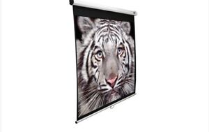 Elite Screen - 100inch; Manual Screen/Ecran Projection 16:9