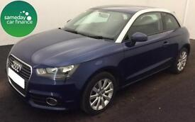 FROM £173.18 PER MONTH BLUE 2013 AUDI A1 1.6 TDI SPORT 3 DOOR DIESEL MANUAL