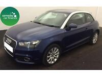 £138.44 PER MONTH BLUE 2013 AUDI A1 1.6 TDI SPORT 3 DOOR DIESEL MANUAL
