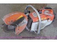 Stihl ts400 stone cutter