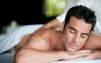 Relaxing male massage