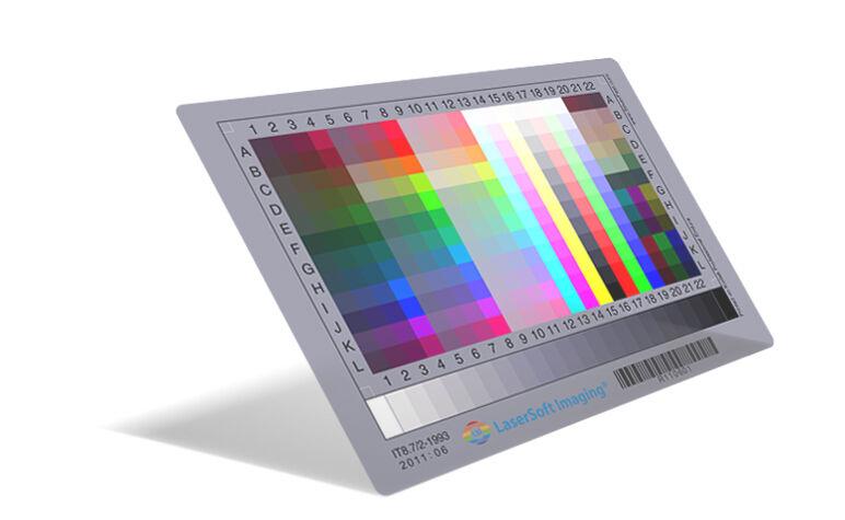 "Neu! SilverFast 4x5"" Fuji IT8 Target LaserSoft Imaging Durchlicht Transparency"