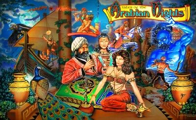 TALES of the ARABIAN NIGHTS Complete LED Kit custom SUPER BRIGHT PINBALL LED KIT