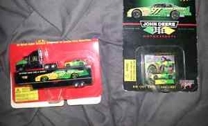 Autographed collectable chad little #97 john deere