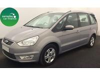 £223.12 PER MONTH SILVER 2011 FORD GALAXY 2.0 ZETEC DIESEL AUTO 7 SEATS