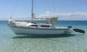 Adams 21 Trailer Sailor **NOW 23 FOOT** Pialba Fraser Coast Preview