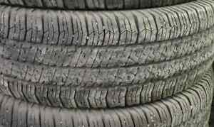 $400 TOTAL PRICE Goodyear SR-A 255/75/17-75% TREAD(4 TIRES)