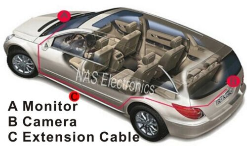 4WD-Reversing-CCD-Camera-Backup-Kit-With-5-Monitor-And-Sharp-CCD-Camera