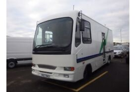 2001 Leyland Daff FA 45 / 150 Libarary bus only 8k km ideal campervan/ race an conversion