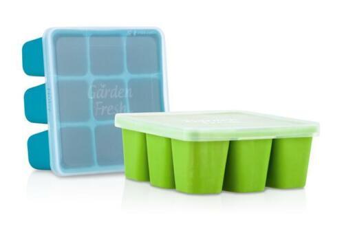 Nuby Garden Fresh Freezer Tray - 9 Compartments - BPA Free