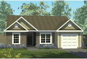 NEW $168,900 CON 1151 SQ FT BUNGALOW WITH GARAGE ON YOUR LOT