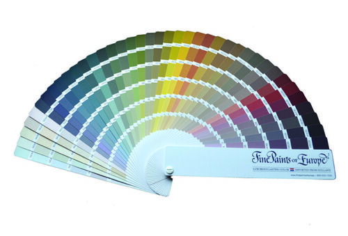 Fine Paints of Europe The Wall of Color Collection Architectural Fan Deck