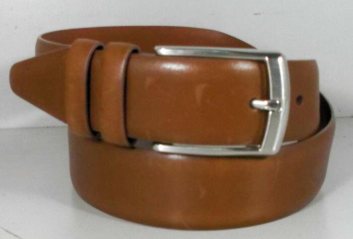 756959 MSBLT20 Men/'s Belt Size 36 Tan Leather Johnston /& Murphy