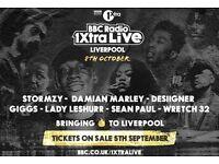 1xtra live tickets x2