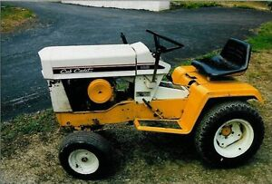 Looking for old cub cadet riding mowers
