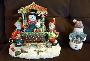 Snowman Cart