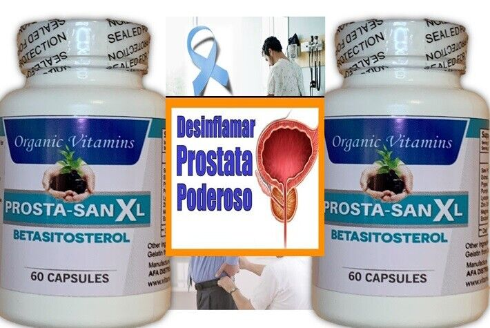 MALE PROSTATE SUPPORT BETA SITOSTEROL PUMPKIN HERBAL SUPPLEMENT 120 CAPSULES  3