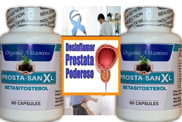 Pastillas Medicamentos Naturales Para La Prostata Inflamada Capsulas Remedio 120