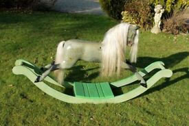 Old F H Ayres bow Rocking horse