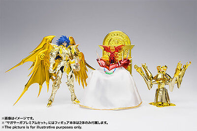 Saint Seiya Myth EX God Cloth Soul of Gold Gemini Saga Premium set Bandai
