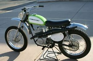 Wanted: Kawasaki Green Streak