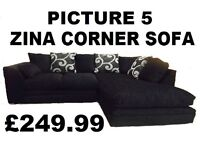 New York corner sofa special offer price + delivery
