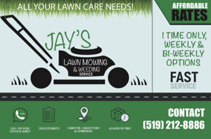 Landscaping, lawn care, junk removal, handyman jobs. You name it