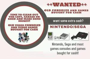 In search of video games - Playstation, Nintendo, Xbox, Etc.