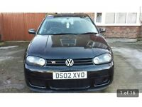 Rare Volkswagen Golf 2.8 V6 VR6 4Motion 5dr UNIQUE R32 body-kit full lether heated seats BLACK